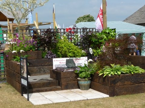 railway sleepers norfolk show